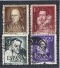 España  -  1950  -  Edifil - 1071 / 74 ( Usado ) - 1931-Hoy: 2ª República - ... Juan Carlos I