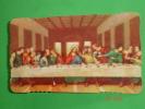 ALF 2051 - Gesù ULTIMA CENA - Santino Vecchio - Arti Grafiche A. Fattorini - Santini