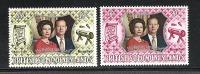 Salomoninseln ** , 234 - 35 , Silberhochzeit Des Königspaares , Elisabeth II - Solomoneilanden (1978-...)
