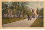 Crefeld, Friedrichsplatz, Couleur,1925, Cachet Dos - Krefeld