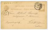 Hungary Postcard 1885 From Zagrep To Leipzig Sachsen Germany - Postwaardestukken