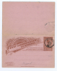 Belgium Congo Congo Belge . Carte Postale Avec Réponse Payée Boma Cancel, Not Used - Postwaardestukken