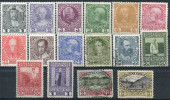 Autriche (1908) N 101 � 116 charniere