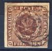 #Denmark 1852. Michel 1 IIa. Used(o) - Oblitérés