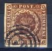 #Denmark 1854. Michel 1 IIb. Used(o) - Oblitérés