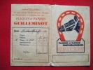 Pochette Photos -pub Plaques Et Papiers Guilleminot - Unclassified