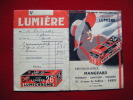 Pochette Photos -pub Lumiere- Mangeard Av De Suffren Paris - - Unclassified