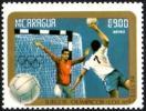 NICARAGUA 1984 - OLYMPIC GAMES LOS ANGELES 1984 - HANDBALL - MINT - Pallamano
