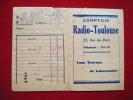 Pochette Photos -pub Lumipan Lumiere-comptoir Radio Toulouse Rue De Metz - Unclassified