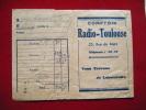 Pochette Photos -pub Lumipan Lumiere-comptoir Radio Toulouse 25 Rue De Metz - Unclassified