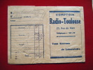 Pochette Photos -pub Lumipan Lumiere-comptoir Radio Toulouse 25 Rue De Metz - Photography