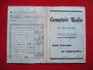 Pochette Photos -pub Luxor Lumiere--comptoir Radio Toulouse 25 Rue De Metz - Unclassified