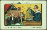 """""""Jack In The Box.  Swearing""""  By  Frederik Spurgin.   Postally Used 1907 - Spurgin, Fred"""