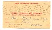 OBL MÉCANIQUE ONDULÉE CENTRE DES COMPTES POINTS TEXTILES JANVIER 1944 - Marcofilie (Brieven)
