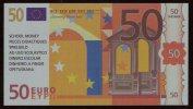 "Test Note ""LEARNING RESOURCES"" Testnote, 50 EURO, Beids. Druck, RRRRR, UNC, Orig. EURO Size, Billet Scolaire - EURO"