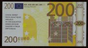 "Test Note ""LEARNING RESOURCES"" Testnote,200 EURO, Beids. Druck, RRRRR, UNC, Orig. EURO Size, Billet Scolaire - EURO"