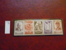 FRANCE 1943 - BANDE SECOURS NATIONAL YT 576-580 - * / MH -  - SCHE) - Unused Stamps