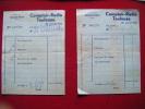 Bon De Travaux Photo-comptoir Radio Toulouse 25 Rue De Metz - Unclassified