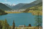 CP - PHOTO - DAVOS - BLICK VOM HOHWALD UBER DEN DAVOSERSEE GEGEN TINZENHORN UND PIZ MITGEL - 5046 - GR Grisons