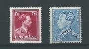 Zegels 832 - 833. * Scharnier Aan 10% - Unused Stamps