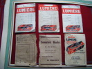 Pub Film Lumiere 26°  Super Mumichrome 28° -papier Luxor Lumiere-comptoir Radio Toulouse-tolosano A Vichy - Unclassified