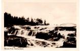 """Newfounland-USA """"Manuels River Falls"""" Mailed Photo Post Card 1948 - Newfoundland And Labrador"""