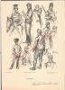 (q)militaria 14/18=croquis Militaire Peint Par Fouqueray-I X.armée Belge  Papier épais    (21x29) - 1914-18