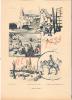 (q)militaria 14/18=croquis Militaire Peint Par Jonas Croquis De Guerre  Papier épais    (21x29) - 1914-18
