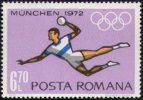 ROUMANIA 1972 - OLYMPIC GAMES MUNICH 1972 - HANDBALL - MINT - Pallamano
