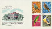 NEW HEBRIDES 1972 FDC With Birds. - Oiseaux