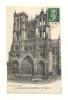 Cp, 80, Amiens, La Cathédrale, La Façade, Voyagée 1924 - Amiens