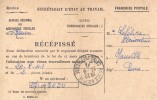 Carte En Franchise (Secrétariat D'Ètat Au Travail) De Rouen Vers Hauville - Aout 1941 - Poststempel (Briefe)