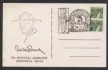 India 1976  9 TH SCOUTING JUMBOREE BADEN POWELL  BODH GAYA CARD # 21107 Indien Inde - Scouting