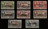 FALKLAND ISLANDS DEPENDENCIES SOUTH GEORGIA 1944 SET SG B1/B8 FINE USED Cat £11 - Falkland Islands