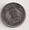Moneda De India, Indie, 1 Rupee (1997) - Andere - Azië