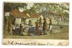 1906 India Village Bombay Presidency  Ppc/cpa Used Park Town To Arkonam Postmark - India