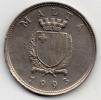 MALTA 25 CENTS 1993 - Malta