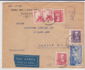 ESPAGNE - 1939 - ENVELOPPE Par AVION Avec CENSURE De SALAMANCA Pour LONDRES - Marcas De Censura Nacional