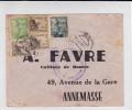 ESPAGNE - 1940 - ENVELOPPE Avec CENSURE De BILBAO Pour ANNEMASSE (SAVOIE) - Marcas De Censura Nacional
