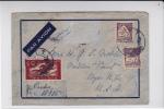 PORTUGAL - 1940 - ENVELOPPE Par AVION RECOMMANDEE Pour NEW YORK (USA) - 1910-... République