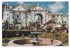 [W833] Bolivia Copacabana Basilic & Fountain Vintage Postcard -  Basílica De Copacabana - Bolivia