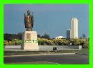 ABIDJAN, CÔTE D´IVOIRE - CATHÉDRALE SAINT-PAUL - STATUE DU PAPE JEAN-PAUL II - ÉDITIONS, FONDATION SAINT-PAUL - - Côte-d'Ivoire
