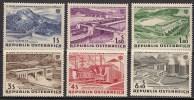 AUSTRIA 1961 Nº  942/947 - 1961-70 Ongebruikt