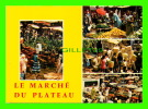 ABIDJAN, CÔTE D´IVOIRE - LE MARCHÉ DU PLATEAU - ANIMÉE - 4 MULTIVUES -  EDIPRESSE - - Côte-d'Ivoire