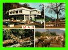 MAN, CÔTE D´IVOIRE - 4 MULTIVUES - HÔTEL DES CASCADES - EDIPRESSE - - Côte-d'Ivoire