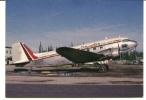 CPM AVION FRONTIER FLYING SERVICE DC 3 Phto Pierre Alain Petit - 1946-....: Era Moderna