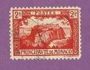 MONACO TIMBRE N° 61 OBLITERE LE ROCHER 2F VERMILLON - Neufs