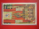 Interior Of The Golden Pavilion Of Jehol Chicago Worlds Fair  Linen 1933 Cancel  -----   =====    00----   Ref 315 - Postcards