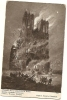 CPA GUERRE DE 14-18 REIMS LA CATHEDRALE EN FEU - Guerre 1914-18