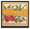 ETIQUETTE DES LABORATOIRES CLAIREVAL -  EAU DE ROSES - Labels